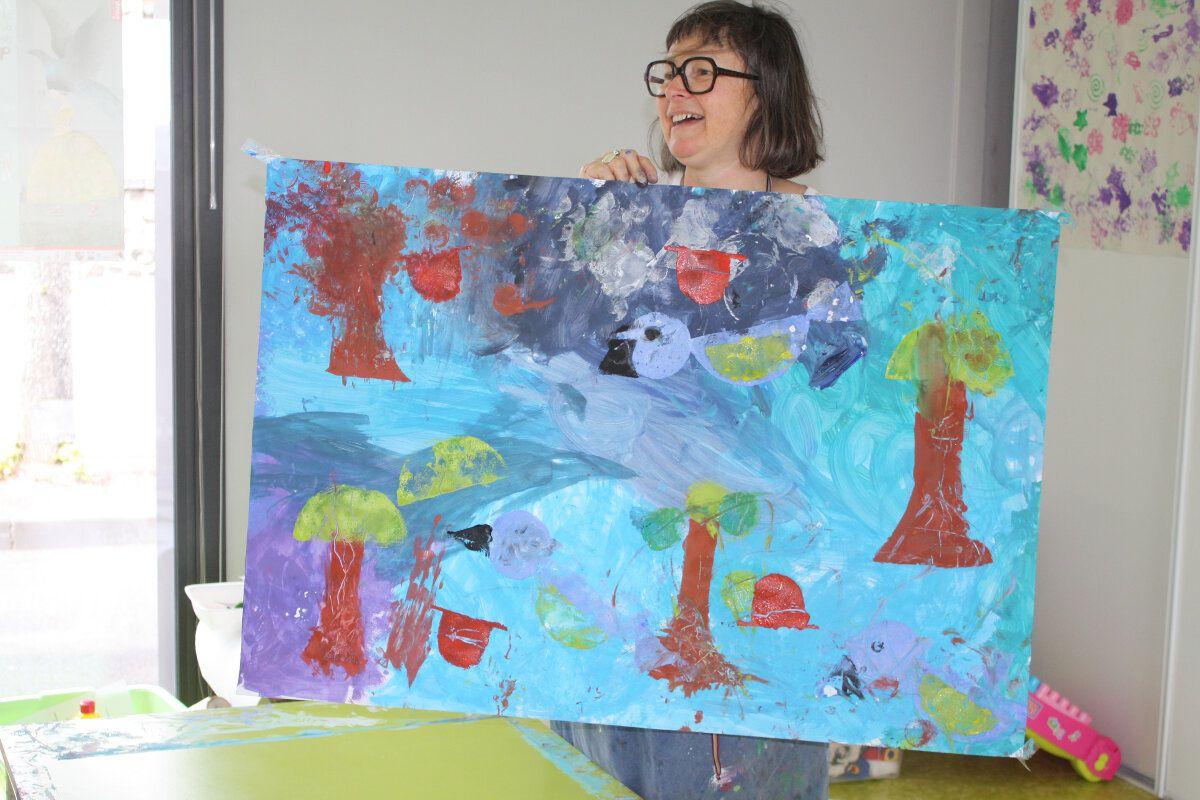 Laetitia Le Saux, artiste nantaise