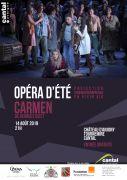 affiche Opéra d'été Cantal