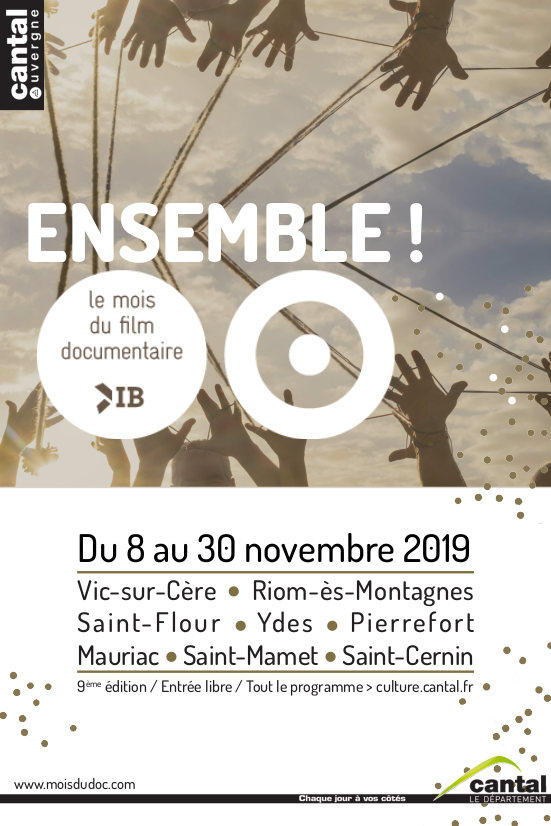 Affiche Mois du film documentaire 2019 Cantal