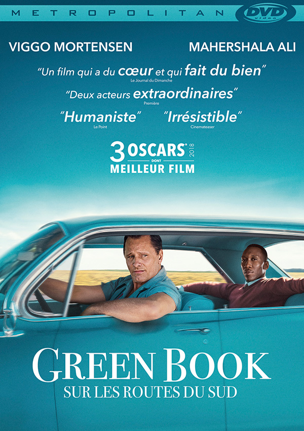 Green Book DVD