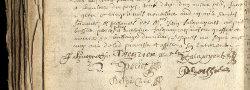 signatures Acte 5 E 655