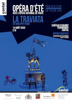 Opéra d'été Cantal 2020 : La Traviata