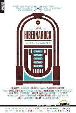 Affiche Hibernarock 2021