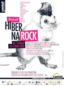 Affiche Hibernarock 2020