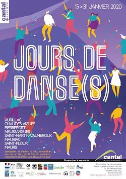Affiche JOURS DE DANSE(S)